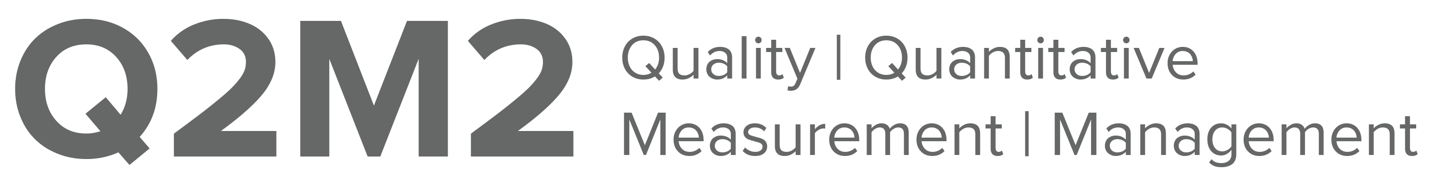 Q2M2 Data-driven Improvement of Your Organisation's Performance